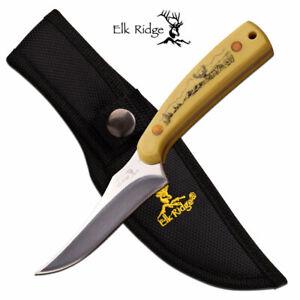 """Elk Ridge ER-299IV FIXED BLADE KNIFE 7"""" OVERALL"""