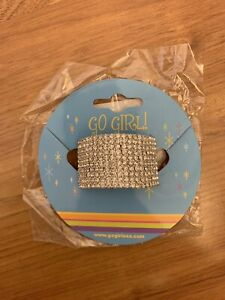 New In Package- GoGirl Ponytail Rhinestone