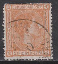 1875 ALFONSO XII 20 cts USADO. 198 €. VER
