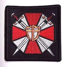 "Resident Evil Umbrella Corp Sword & Shield Logo 3"" Patch- FREE S&H (REPA-119)"