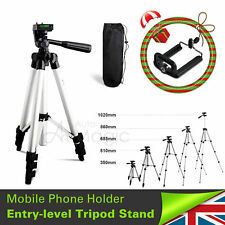 Digital Camera Camcorder Adjustable Tripod Stand Carry Case for Sony Canon UK