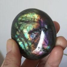 121g   Natural Labradorite Crystal Rough Polished Madagascar  6137