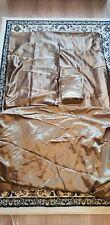 Bundle: 1 X Country club Satin bedding sets, 1X duvet  cover,2 X  tablecloths