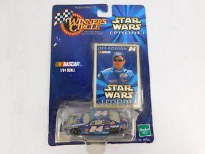 WINNER'S CIRCLE JEFF GORDON #24 STAR WARS EPISODE 1 NASCAR '99 MONTE CARLO 1:64