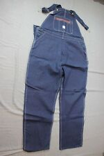 Vintage NWT 1960's Workwear Pointer Brand Denim High Back Overalls 48 X 34 #4