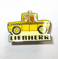 Liebherr James Rizzi Yellow Taxi Pin NEU (A6.2)