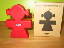 ALESSI *NEW* Bougie femme rouge H.12cm