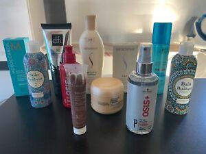 Lot 11 soin shampooing revlon schwarzkopf moroccanoil revlon l'oreal osis Dfi