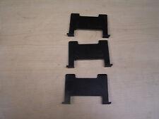 3) Porsche 968 944 924S Turbo S2 - Center Console Arm Rest Cassette Dividers x3