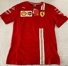Formula 1 F1 Scuderia Ferrari 2021 Team T-Shirt - Charles Leclerc - Men's Large