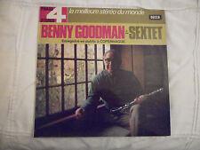 "2 X LP 12"" / BENNY GOODMAN & SON SEXTET: EN SCENE (PHASE 4, DECCA, FRANCE)"