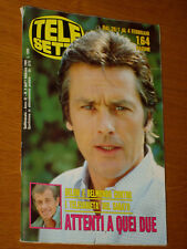 TELESETTE 1989/5=ALAIN DELON=JOCELYN=RAY LOVELOCK=ANGELA FINOCCHIARO=JOVANOTTI=