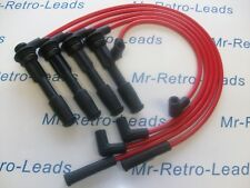 RED 8.5MM PERFORMANCE IGNITION LEADS WILLIAMS 19 CLIO 2.0i 1.8i 1.7 16V QUALITY