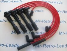 RED 8MM PERFORMANCE IGNITION LEADS FOR THE WILLIAMS 19 CLIO 2.0i 1.8i 1.7i 16V