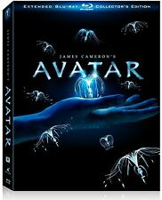 AVATAR - 3 Blu-rays - Extended - Collector's Edition im Schub - James Cameron