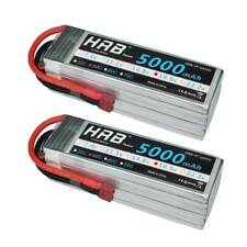 2pcs HRB 5S 18.5V 5000mAh Lipo Battery 50C 100C for RC Drone Airplane Helicopter