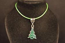 Brand New! Usa Seller! Xmas Christmas Tree Charm Necklace Fashion Jewelry