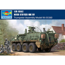 Trumpeter 01560 1/35 US M1135 Stryker NBC RV Plastic Assembly Military Model Kit