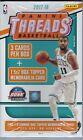2017-18 Panini THREADS Basketball NBA Cards 4ct Retail HANGER Box 5x7 Mem Card