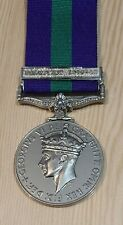 General Service Medal GSM with Palestine 1945-48 Clasp (Full Size)