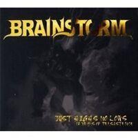 "BRAINSTORM ""JUST HIGHTS NO LOWS (12 YEARS...)"" 2 CD NEU"