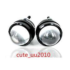 White Bull/Fish Eye Lens Car LED Spot Lights Super Bright Headlights Universal