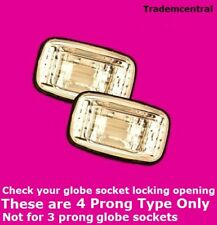 Toyota Clear Guard Indicators Hilux Corrolla Landcruiser Camry Right Left 4Prong