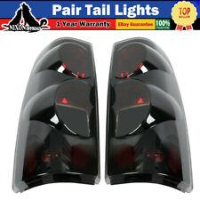 For 1999 2006 Chevy Silverado 1500 2500 3500 Tail Lights Pair Lamps Black Smoke Fits 2005 Chevrolet Silverado 2500 Hd Ls