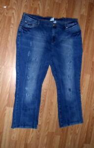 DG2 by Diane Gilman Women's Jeans Sz 22WP Stretch Blue - NWOT