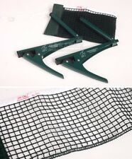 Double Fish Strong Metal Ping Pong Table Tennis Net/Post Set Clamp on/off 2001A