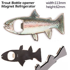 Rainbow Trout Magnetic Bottle Opener Novelty Fishing Gift
