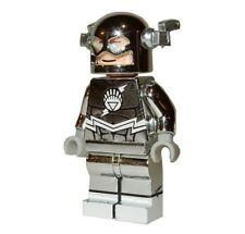 **NEW** LEGO Custom Printed CHROME WHITE LANTERN FLASH Minifigure