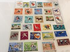 Mix Of 30 World Stamps, Some Mint, All Different Depicting Olympic Sports Set 9