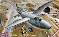 Condor / MPM 1/72 Heinkel He 178 V1 unmade complete kit sealed bag