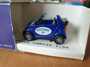 Smart Cabrio 1:50 Promotional Gerolsteiner Publicitaire