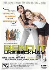 BEND IT LIKE BECKHAM (Keira KNIGHTLEY Jonathan RHYS MEYERS) Comedy DVD NEW Reg 4