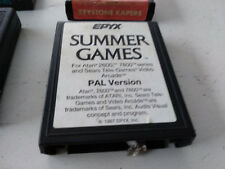 Summer Games Atari 2600/7800 EPYX PAL version