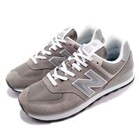 New Balance WL574EG B 574 Grey White Women Running Shoes Sneakers WL574EGB