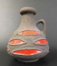 Schlossberg Vase 70 20 Fat Lava west german pottery 60s 60er 70s Design Entwurf
