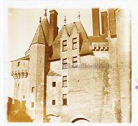 Langeais Château Francia Foto Stereo PL46Th5n Placca Da Lente Vintage