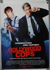 DS412 - Gerollt/KINOPLAKAT - HOLLYWOOD COPS Harrison Ford - Double Sided