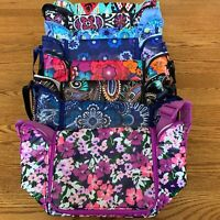 Vera Bradley STAY COOLER Insulated Lunch bag sack bunch tote  SLR camera case