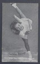 1948-49 Exhibits Sports Champions Gretchen Merrill Figure Skating VG-EX Plus