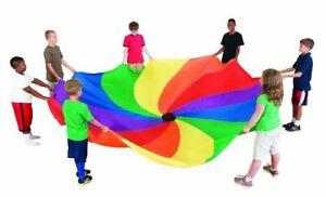 Sportime Swirl Parachute, 18' Dia.