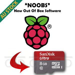 Raspberry Pi 3 2 NOOBS Preload microSD Card