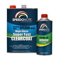 Mobile Refinish Clear Coat High Gloss Super Fast Clearcoat Gallon Kit SMR-105/95