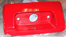 HONDA TRX250 250 RECON RED TOOLBOX DOOR, STORAGE BOX COVER,TAILLIGHT HOLDER