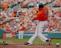 Chris Davis Autographed 16x20 Orioles Swinging Photo- JSA W Authenticated