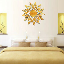 Sun Mirror Wall Stickers Reflective Sticker Home Room Decoration Wall Stickers