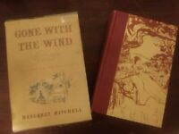 Margaret Mitchell Gone with the Wind 1961 25th Anniversary edition book slipcase